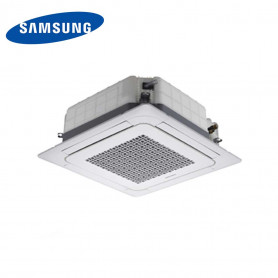 SAMSUNG INTERNA CASSETTA MINI 4 VIE WINDFREE 12000 BTU/H PER MULTISPLIT FORNITO DI COMANDO WIRELESS+PANNELLO R32/R410