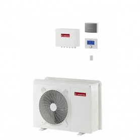 Ariston 3301186 Nimbus Pocket M Net 70M Kw 7,0 Pompa Di Calore Aria/Acqua Inverter Predisposizione A.c.s. A++/A++220 V.