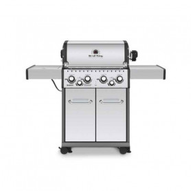 Broil King Baron S490 INOX Barbecue a Gas Linea Dual Tube