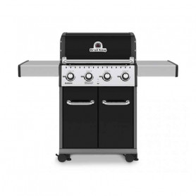 Broil King Baron 420 NERO Barbecue a Gas Linea Dual Tube
