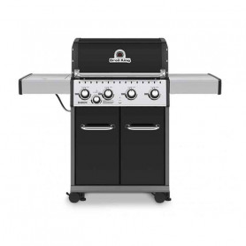 Broil King Baron 440 NERO Barbecue a Gas Linea Dual Tube