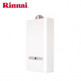 RINNAI SCALDABAGNO A GAS  CONTINUUM 11 L/MIN X INTERNO C.STAGNA  METANO COMPRESO KIT FUMI