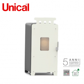 UNICAL TUA STUFA A PELLET  VERSIONE GRANDMOTHER CLASSE EFFICIENZA ERP RISC. A+  POTENZA TERMICA 6,2 KW