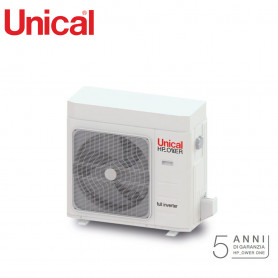 UNICAL POMPA DI CALORE INVERTER HP OWER ONE 120 KW 12,0