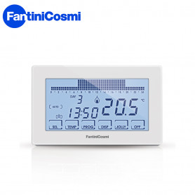 FANTINI COSMI CRONOTERMOSTATO TOUCH SCREEN BIANCO