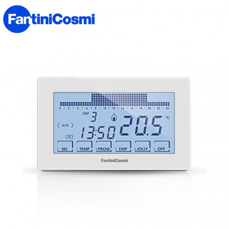 Fantini cosmi cronotermostato touch screen bianco for Cronotermostato fantini cosmi ch180